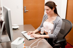 Working and breast feeding